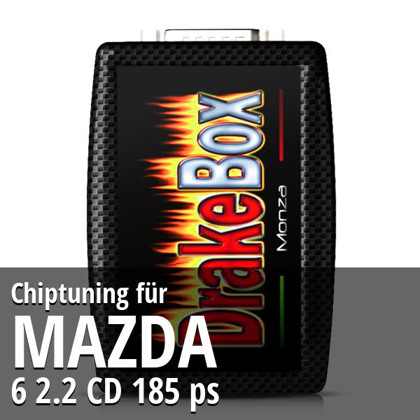 Chiptuning Mazda 6 2.2 CD 185 ps