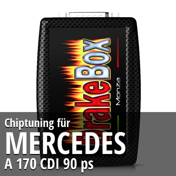 Chiptuning Mercedes A 170 CDI 90 ps