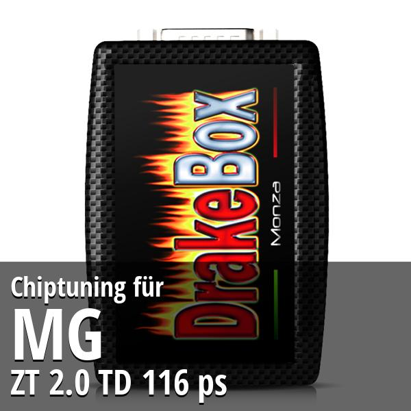 Chiptuning Mg ZT 2.0 TD 116 ps