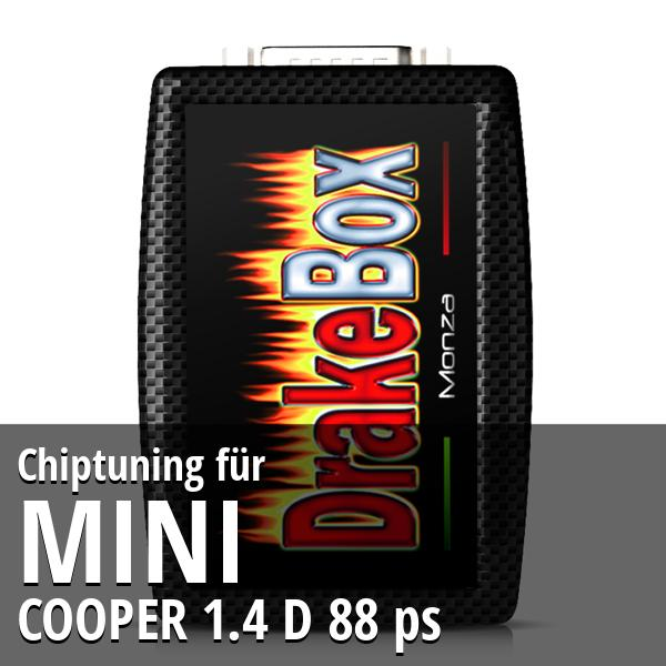 Chiptuning Mini COOPER 1.4 D 88 ps