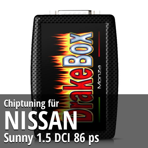 Chiptuning Nissan Sunny 1.5 DCI 86 ps