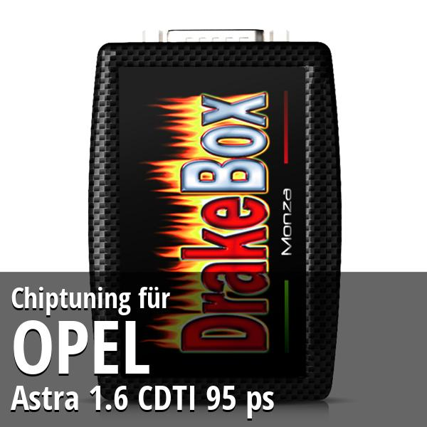 Chiptuning Opel Astra 1.6 CDTI 95 ps
