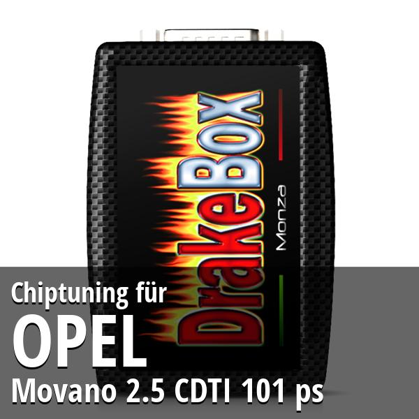 Chiptuning Opel Movano 2.5 CDTI 101 ps