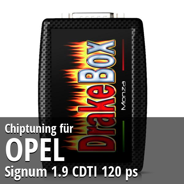 Chiptuning Opel Signum 1.9 CDTI 120 ps