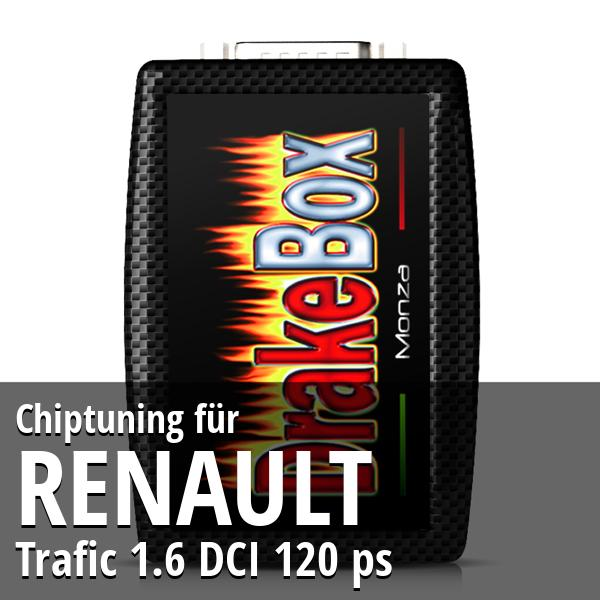 Chiptuning Renault Trafic 1.6 DCI 120 ps