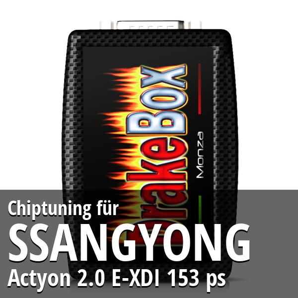 Chiptuning Ssangyong Actyon 2.0 E-XDI 153 ps