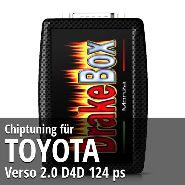 Chiptuning Toyota Verso 2.0 D4D 124 ps