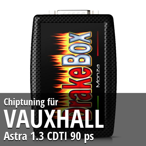 Chiptuning Vauxhall Astra 1.3 CDTI 90 ps
