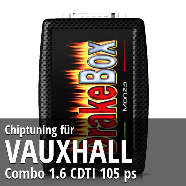 Chiptuning Vauxhall Combo 1.6 CDTI 105 ps