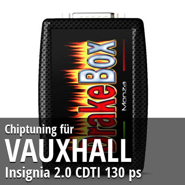 Chiptuning Vauxhall Insignia 2.0 CDTI 130 ps