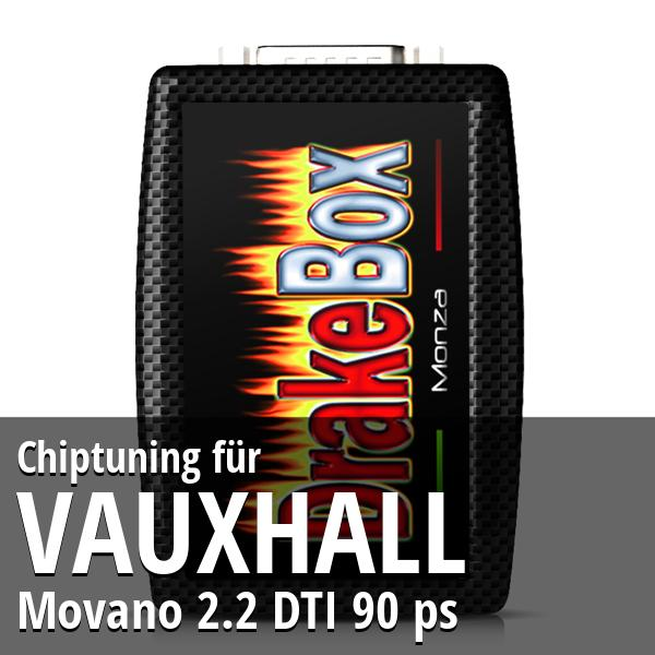 Chiptuning Vauxhall Movano 2.2 DTI 90 ps