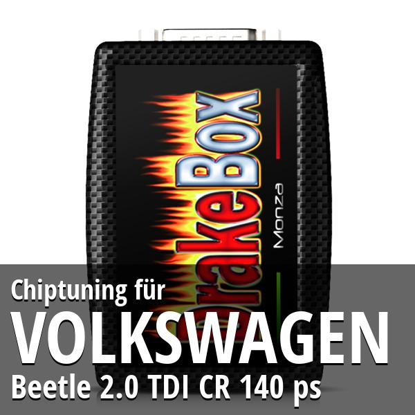 Chiptuning Volkswagen Beetle 2.0 TDI CR 140 ps