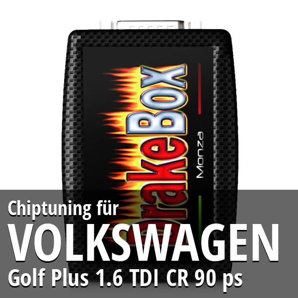 Chiptuning Volkswagen Golf Plus 1.6 TDI CR 90 ps