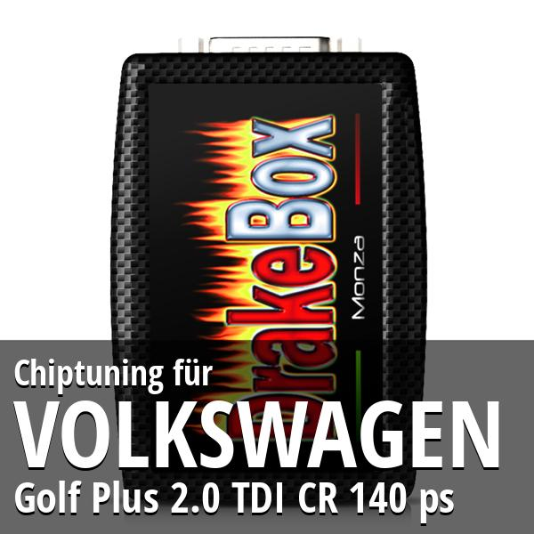Chiptuning Volkswagen Golf Plus 2.0 TDI CR 140 ps