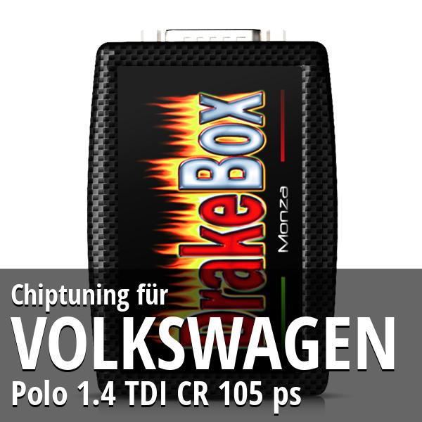 Chiptuning Volkswagen Polo 1.4 TDI CR 105 ps