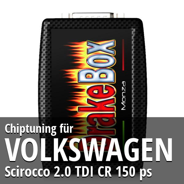Chiptuning Volkswagen Scirocco 2.0 TDI CR 150 ps