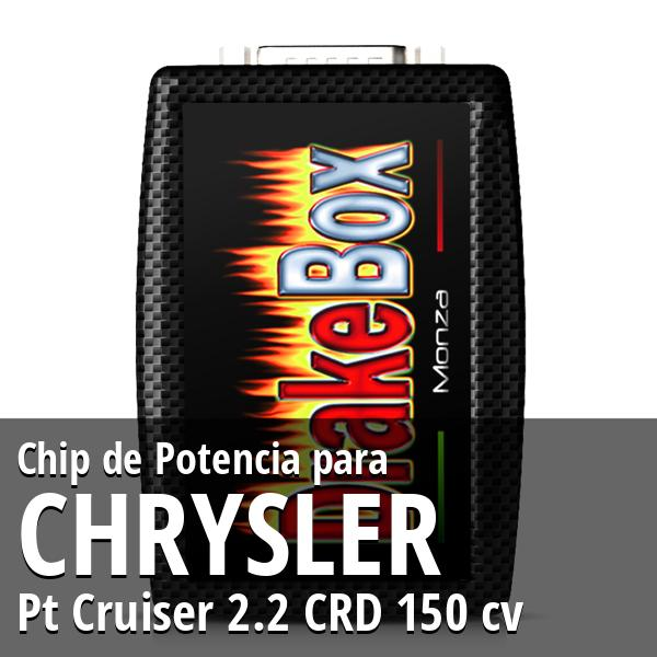Chip de Potencia Chrysler Pt Cruiser 2.2 CRD 150 cv