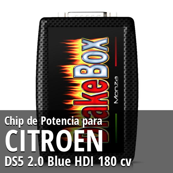 Chip de Potencia Citroen DS5 2.0 Blue HDI 180 cv