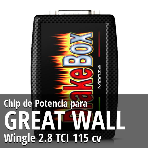 Chip de Potencia Great Wall Wingle 2.8 TCI 115 cv