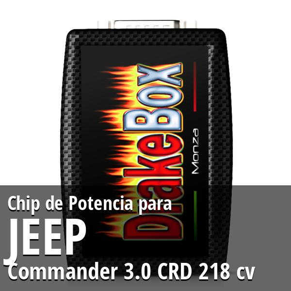 Chip de Potencia Jeep Commander 3.0 CRD 218 cv