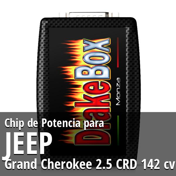 Chip de Potencia Jeep Grand Cherokee 2.5 CRD 142 cv