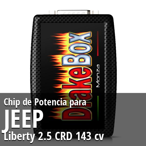 Chip de Potencia Jeep Liberty 2.5 CRD 143 cv