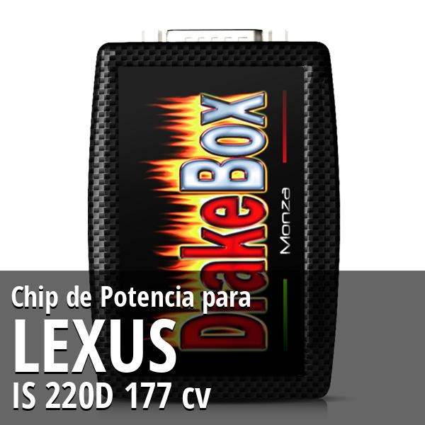 Chip de Potencia Lexus IS 220D 177 cv