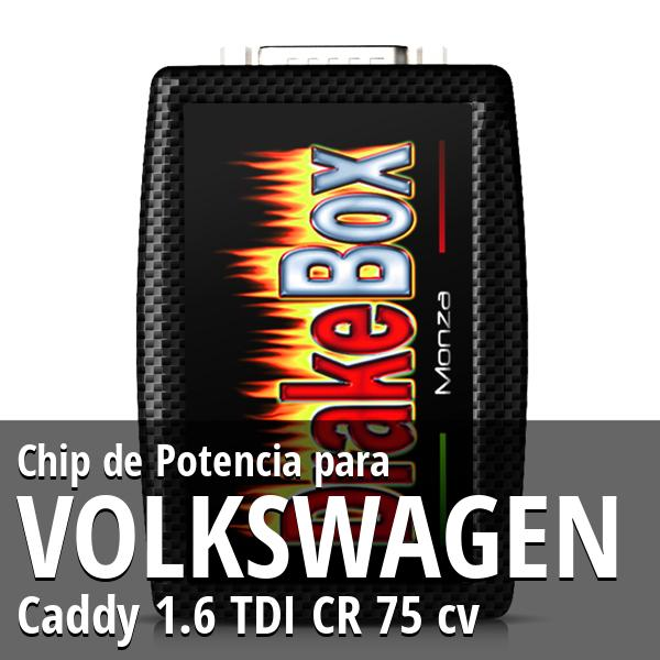 Chip de Potencia Volkswagen Caddy 1.6 TDI CR 75 cv