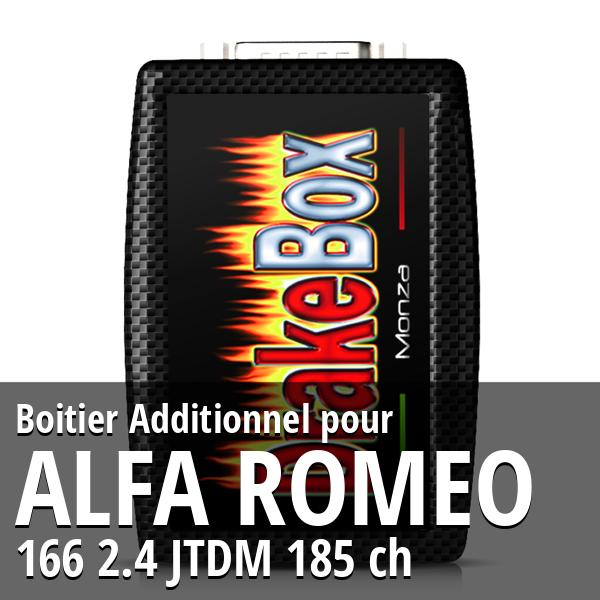 Boitier Additionnel Alfa Romeo 166 2.4 JTDM 185 ch