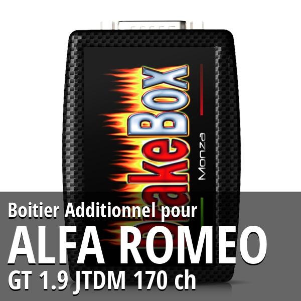 Boitier Additionnel Alfa Romeo GT 1.9 JTDM 170 ch