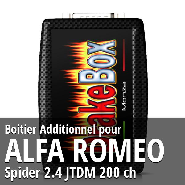 Boitier Additionnel Alfa Romeo Spider 2.4 JTDM 200 ch