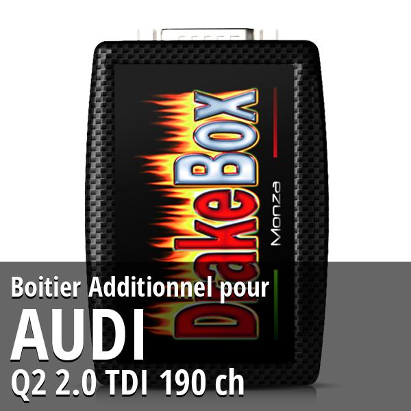 Boitier Additionnel Audi Q2 2.0 TDI 190 ch
