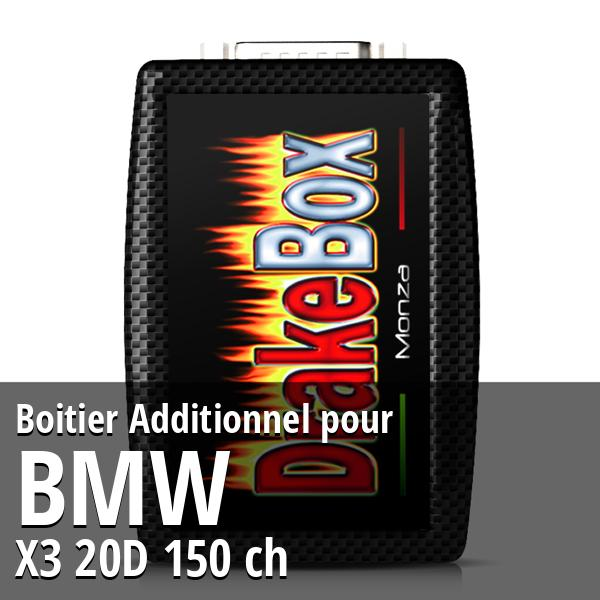 Boitier Additionnel Bmw X3 20D 150 ch