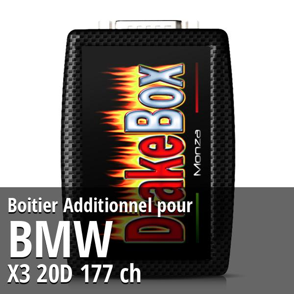 Boitier Additionnel Bmw X3 20D 177 ch