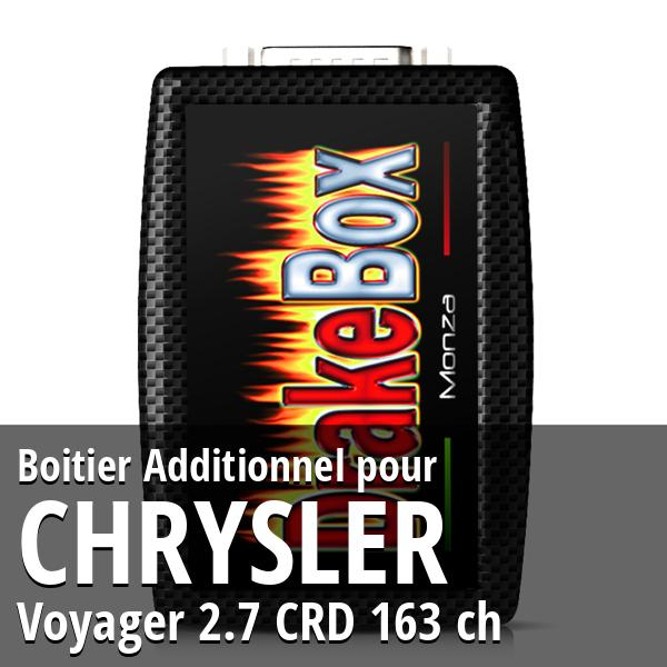 Boitier Additionnel Chrysler Voyager 2.7 CRD 163 ch