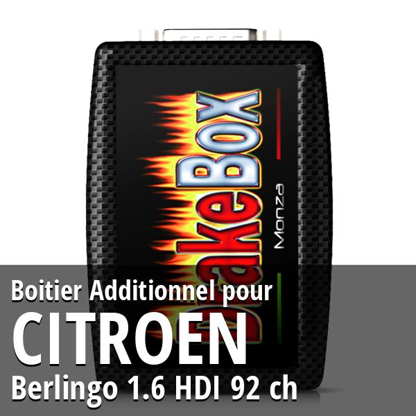Boitier Additionnel Citroen Berlingo 1.6 HDI 92 ch