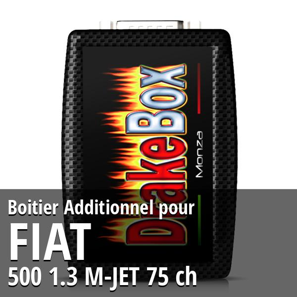 Boitier Additionnel Fiat 500 1.3 M-JET 75 ch