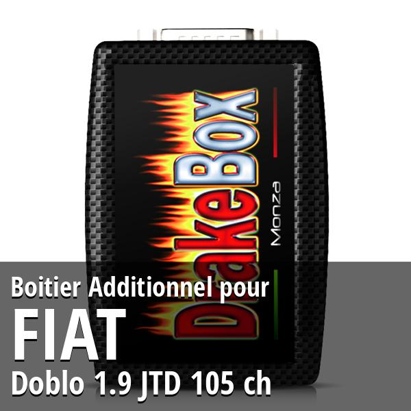 Boitier Additionnel Fiat Doblo 1.9 JTD 105 ch