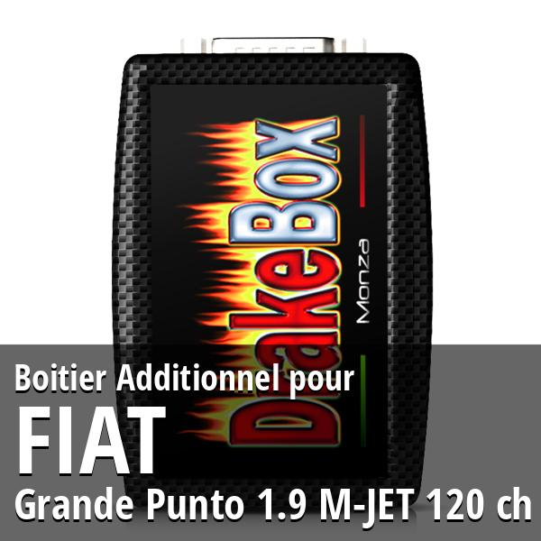 Boitier Additionnel Fiat Grande Punto 1.9 M-JET 120 ch