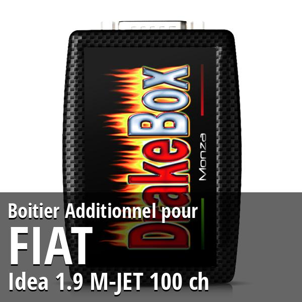 Boitier Additionnel Fiat Idea 1.9 M-JET 100 ch