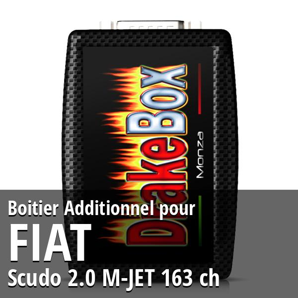 Boitier Additionnel Fiat Scudo 2.0 M-JET 163 ch