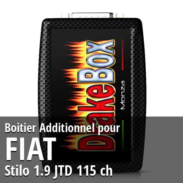 Boitier Additionnel Fiat Stilo 1.9 JTD 115 ch