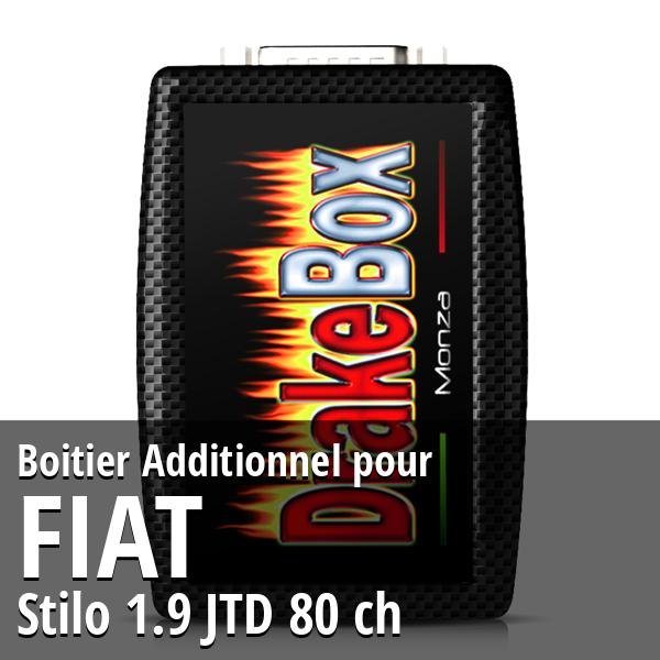 Boitier Additionnel Fiat Stilo 1.9 JTD 80 ch