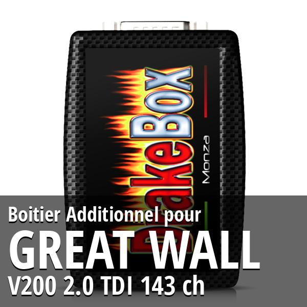 Boitier Additionnel Great Wall V200 2.0 TDI 143 ch