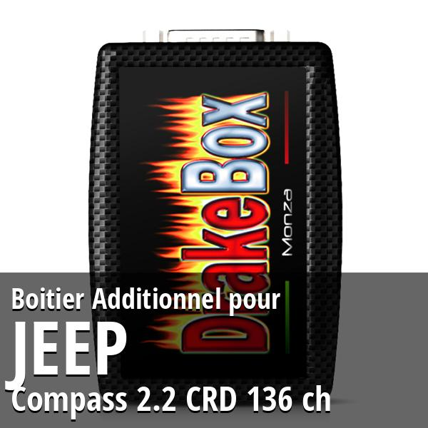 Boitier Additionnel Jeep Compass 2.2 CRD 136 ch