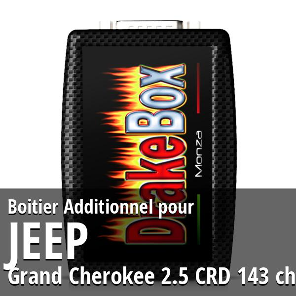 Boitier Additionnel Jeep Grand Cherokee 2.5 CRD 143 ch