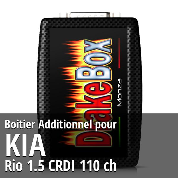 Boitier Additionnel Kia Rio 1.5 CRDI 110 ch