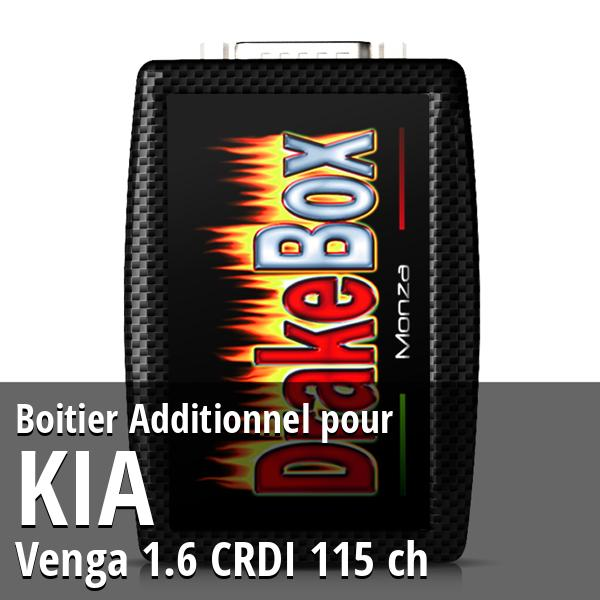 Boitier Additionnel Kia Venga 1.6 CRDI 115 ch