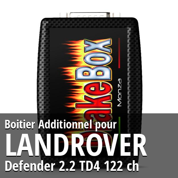 Boitier Additionnel Landrover Defender 2.2 TD4 122 ch