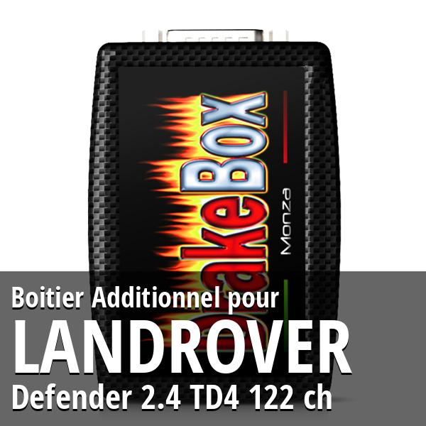 Boitier Additionnel Landrover Defender 2.4 TD4 122 ch